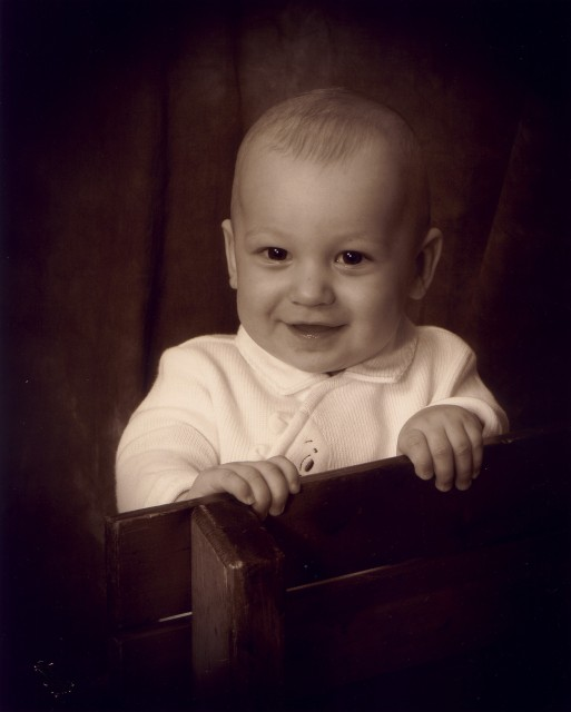 I went to Olan Mills and had my picture taken. This was the best one.