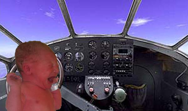A friend of ours has graciously captured this picture of Mason piloting a small plane! Thanks, Aaron!