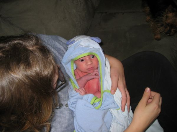 Mola Ram Mason is preparing for his druidic rites. That, or maybe this is the aftermath of Mason's first bath.